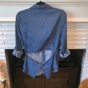 Rachel Rachel Roy Chambray Button Down Shirt